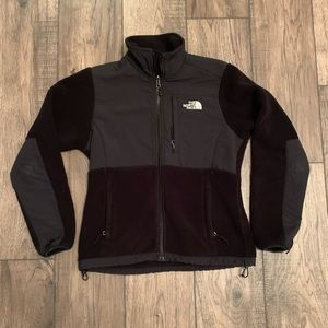 The North Face all black jacket